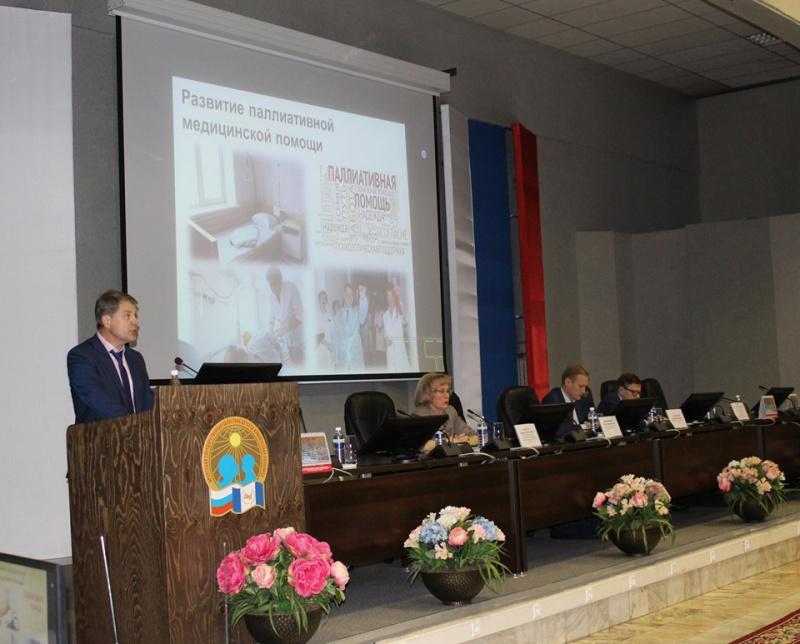 Участники расширенного заседания коллегии министерства здравоохранения Иркутской области подвели итоги деятельности ведомства и поставили задачи на ближайшие годы 8 октября 2019 года в рамках выставки «Сибздравоохранение-2019».
