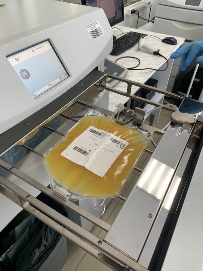 Специалисты Иркутской областной станции переливания крови внедрили тотальную патогенредукцию тромбоцитов