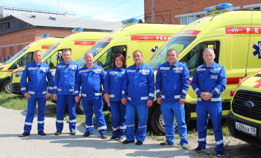 11 новых автомобилей скорой медицинской помощи класса С поступили в Иркутскую область