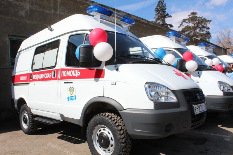 Новый автомобиль поступит в Ангарскую городскую больницу скорой медицинской помощи в июне