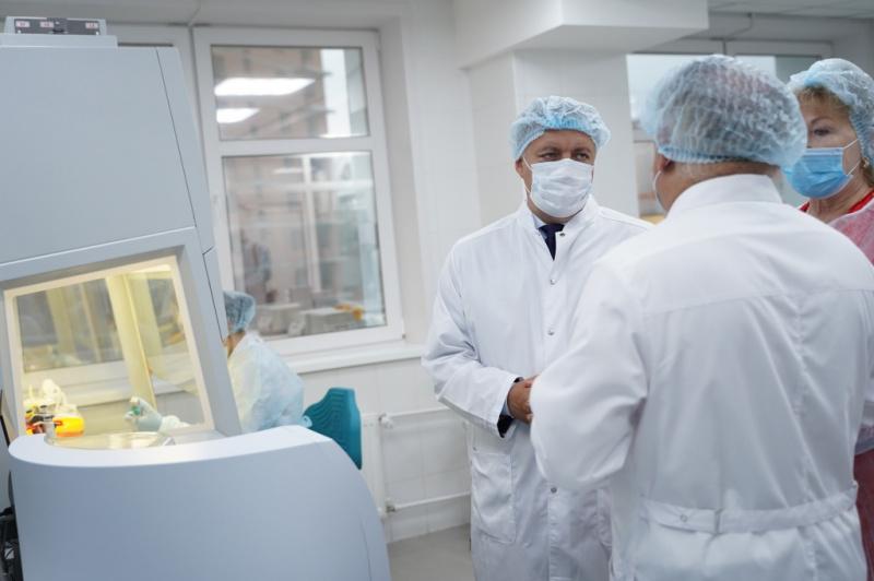 В Иркутске открылся новый корпус клинико-диагностического центра