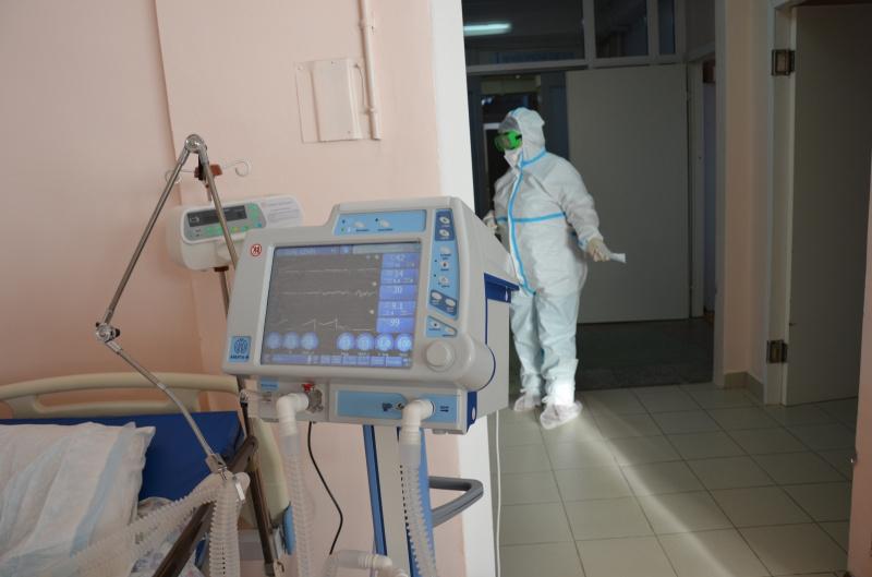 В инфекционном госпитале в Иркутске установили аппараты искусственной вентиляции легких