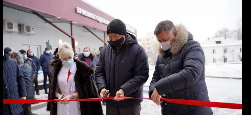 В Шелехове открыт медицинский центр для лечения пациентов с внебольничной пневмонией
